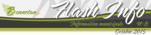 Bandeau Flash n8 oct 2015