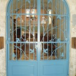 Grille intérieure de l'église