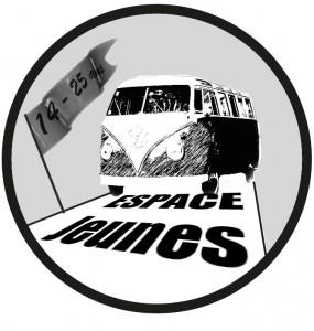 Logo Espace Jeunes avec age 14 25